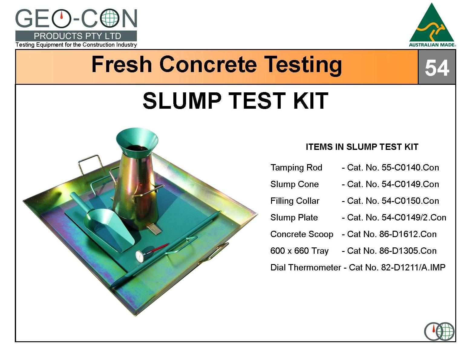 Concrete Slump Test : Geo engineering testing free engine image for user