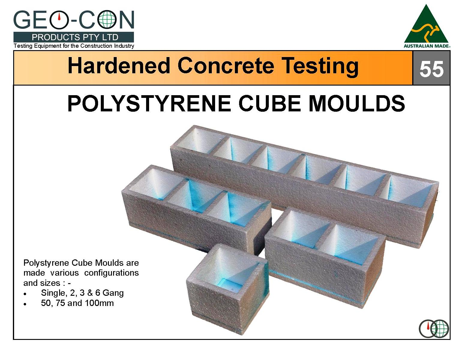 how to prepare concrete cube